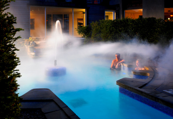 Outdoor spa pool Gleneagles