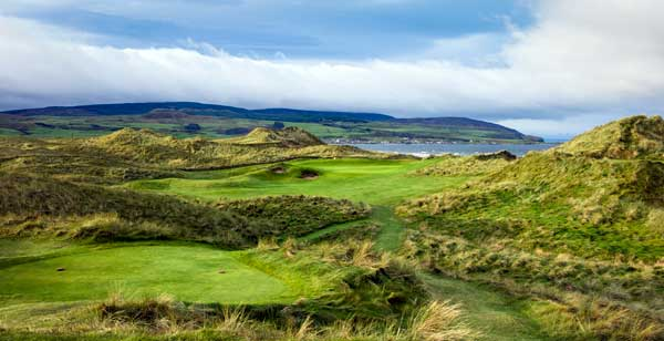 Scottish golf trails