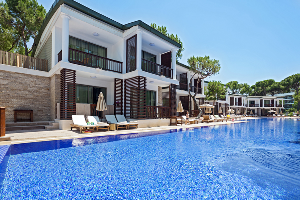 Voyage Belek Hotel Antalya Turkey Laguna Duplex Villa Layout