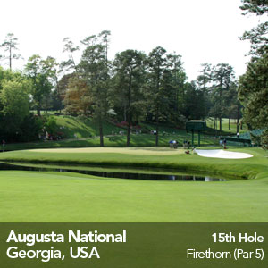 Augusta National 15th Hole
