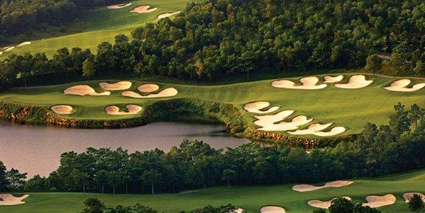 how to build a crazy golf course