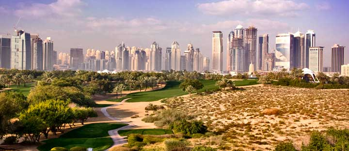 Dubai Golf Holidays