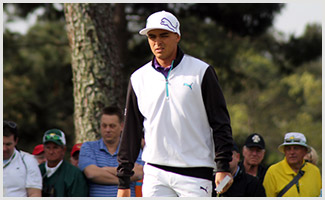 Ricky Fowler at The Masters
