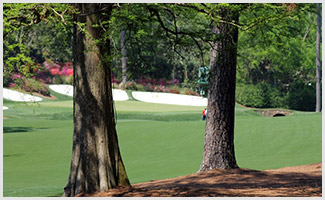 Hole No. 13 at Augusta