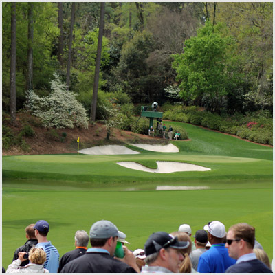 The Twelfth Hole at Augusta