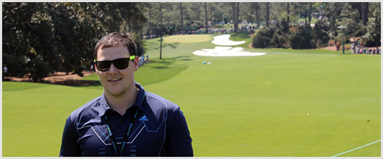 Trent Hile YGT at The Masters