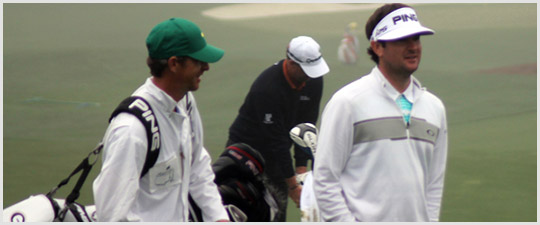 Bubba Watson at The Masters