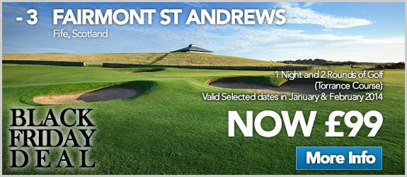 Fairmont St Andrews Now £99