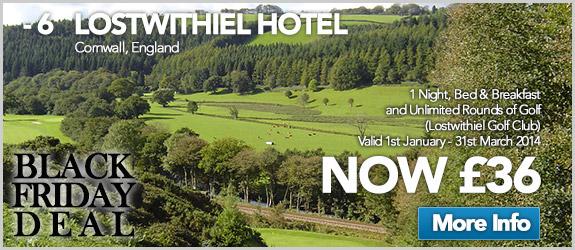 Lostwithiel Hotel Now £36