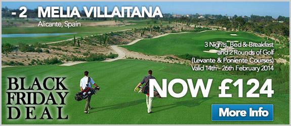 Melia Villaitana Now £124