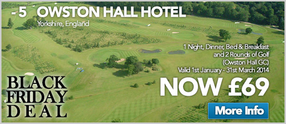 Owston Hall Hotel Now £69