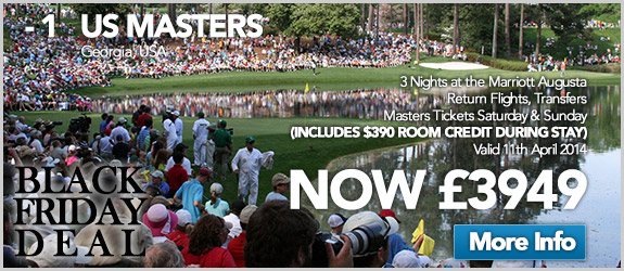 US Masters Now £3949